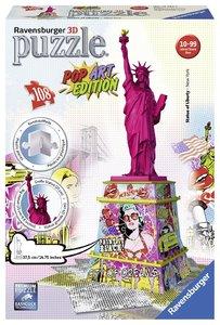 Pop Art Edition - Freiheitsstatue 3D Puzzle-Bauwerke