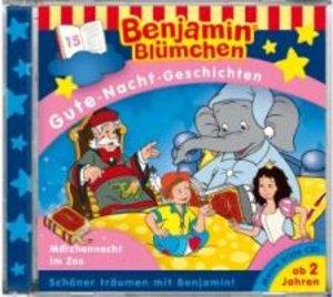 Benjamin Blümchen. Gute-Nacht-Geschichten. Die Märchennacht im Z