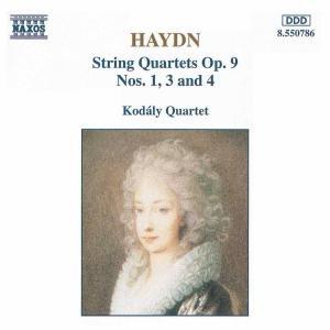 Streichquartette op.9,1+3+4