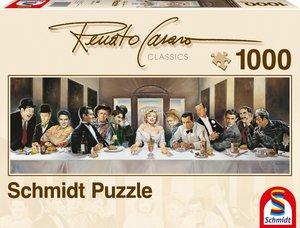 Schmidt Spiele 57291 - Renato Casaro: Dinner der Berühmten