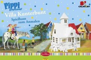 Calafant V7000X - Pippi Spielhaus: Villa Kunterbunt mit Pippi, K