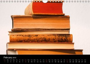 World of the books / UK-Version (Wall Calendar 2015 DIN A4 Lands