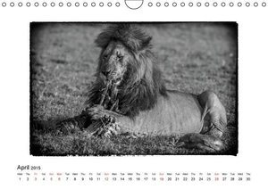 Africa in Black and white (Wall Calendar 2015 DIN A4 Landscape)
