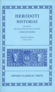 Herodotus Historiae Vol. I: Books I-IV