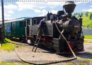 Waldbahnen in Rumänien - Die letzten Mocanitas (Wandkalender 201