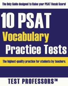 10 PSAT Vocabulary Practice Tests