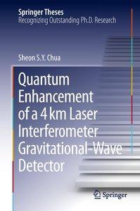 Quantum Enhancement of a 4km Laser Interferometer Gravitational-