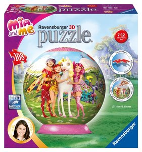 Mia and Me. 3D Puzzle-Ball 108 Teile