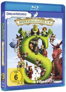 Shrek 1-4 - Die komplette Geschichte