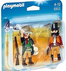 PLAYMOBIL® 5512 - Duo Pack: Sheriff und Bandit