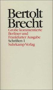 Schriften I. 1914 - 1933