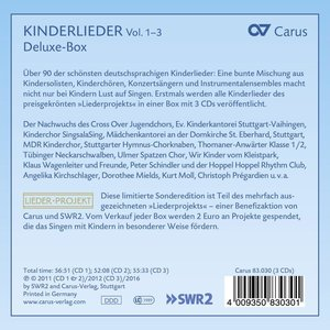 Kinderlieder Vol.1-3-Deluxe-Box