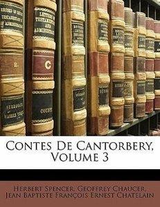 Contes De Cantorbery, Volume 3