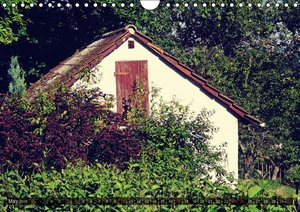 Old cabins in Germany - Vintage style (Wall Calendar 2015 DIN A4