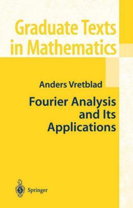 Fourier Analysis and Its Applications - zum Schließen ins Bild klicken