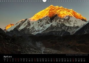 Mount Everest Trek (Wall Calendar 2015 DIN A3 Landscape)