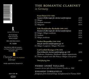 Die Romantische Klarinette In Deutschland