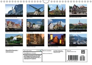 Beautiful Bavaria / UK-Version (Wall Calendar 2015 DIN A4 Landsc
