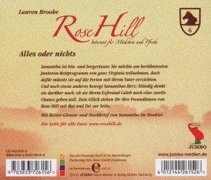 Rose Hill 06. Alles oder nichts