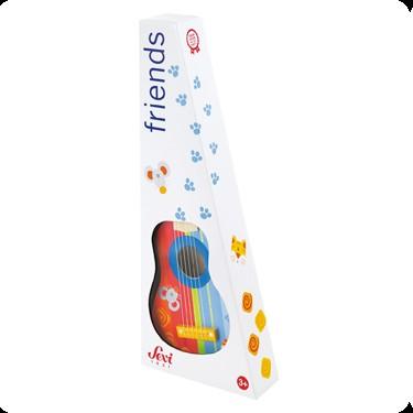 Sevi 82012 - Gitarre, 53 cm, Kinder-Gitarre aus Holz - zum Schließen ins Bild klicken