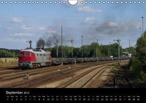 With the Ludmilla through the Upper Lusatia (Wall Calendar 2015