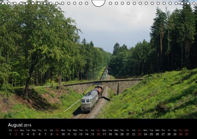 With the Ludmilla through the Upper Lusatia (Wall Calendar 2015 - zum Schließen ins Bild klicken