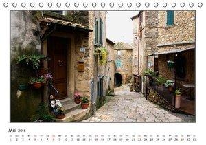 Toskana-Impressionen (Tischkalender 2016 DIN A5 quer)