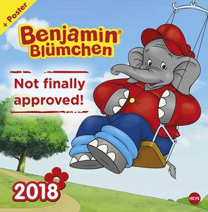 Benjamin Blümchen Broschurkalender 2018