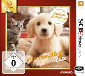 Nintendogs + Cats: Golden Retriever & Neue Freunde (Nintendo Sel