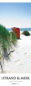 Strand & Meer 2017 -Streifenkalender XXL - (25 x 69)
