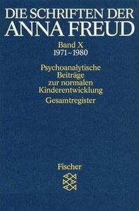 Die Schriften der Anna Freud 10