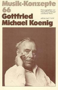 Gottfried Michael Koenig