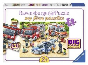 Spannende Berufe. My first Puzzles - Big format 16 Teile