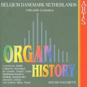 Organ Historie-Niederlande/Belgien