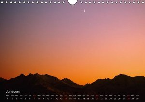 Moonlight symphony (Wall Calendar 2015 DIN A4 Landscape)