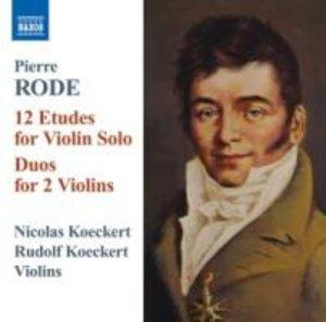 12 Etuden für Violine Solo/Duos