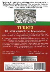 Türkei-Im Felsenlabyribth von Kappadok
