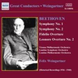 Sinfonie 1+2/Ouvertüren