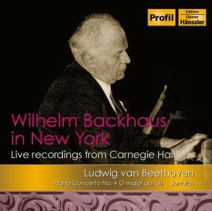 Wilhelm Backhaus In New York