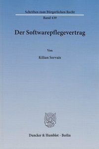 Der Softwarepflegevertrag