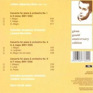 Keyboard Concertos Nos. 1,4 & 5
