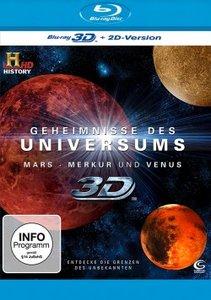 Geheimnisse des Universums 3D - Mars/Merkur/Venus