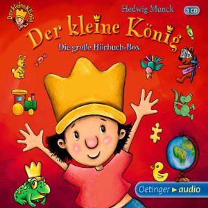 Der kleine König - Die große Hörbuchbox (3 CD) - zum Schließen ins Bild klicken