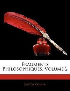 Fragments Philosophiques, Volume 2