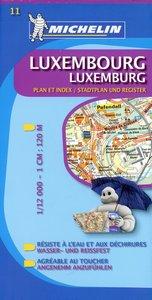 Luxembourg / Luxemburg 1 : 12 000 Stadtplan