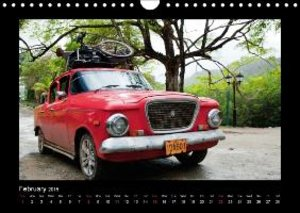 Cuba 2015 - A feast for the eyes - UK Version (Wall Calendar 201