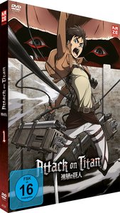 Attack on Titan - DVD 1 (Limited Edition)