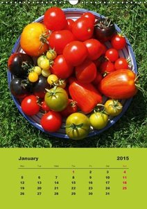 Organic Tomatoes (Wall Calendar 2015 DIN A3 Portrait)
