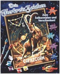 Schipper 609390669 - Malen nach Zahlen - Tierkreiszeichen Steinb