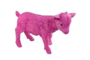 Spardose Spar Ziege, pink